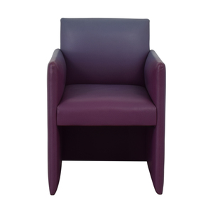 Furniture Masters Purple Accent Chair sale