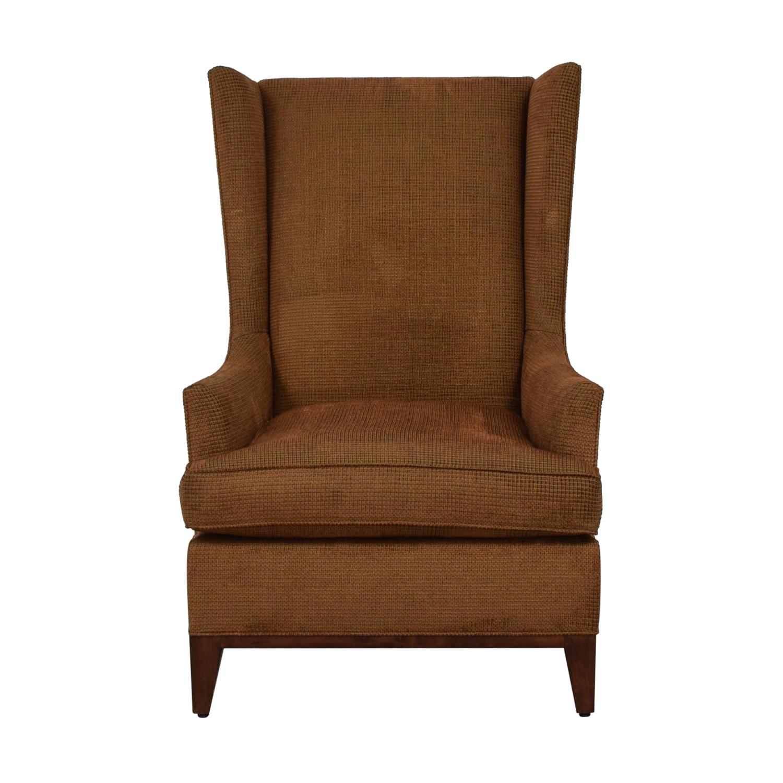 Furniture Masters Furniture Masters Brown Tweed Club Chair used