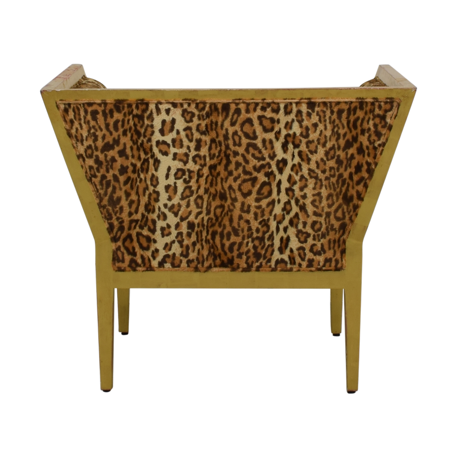 Furniture Masters Furniture Masters Leopard Distressed Accent Chair