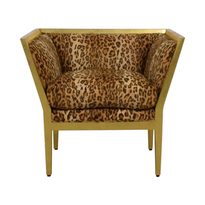 Furniture Masters Furniture Masters Leopard Distressed Accent Chair price