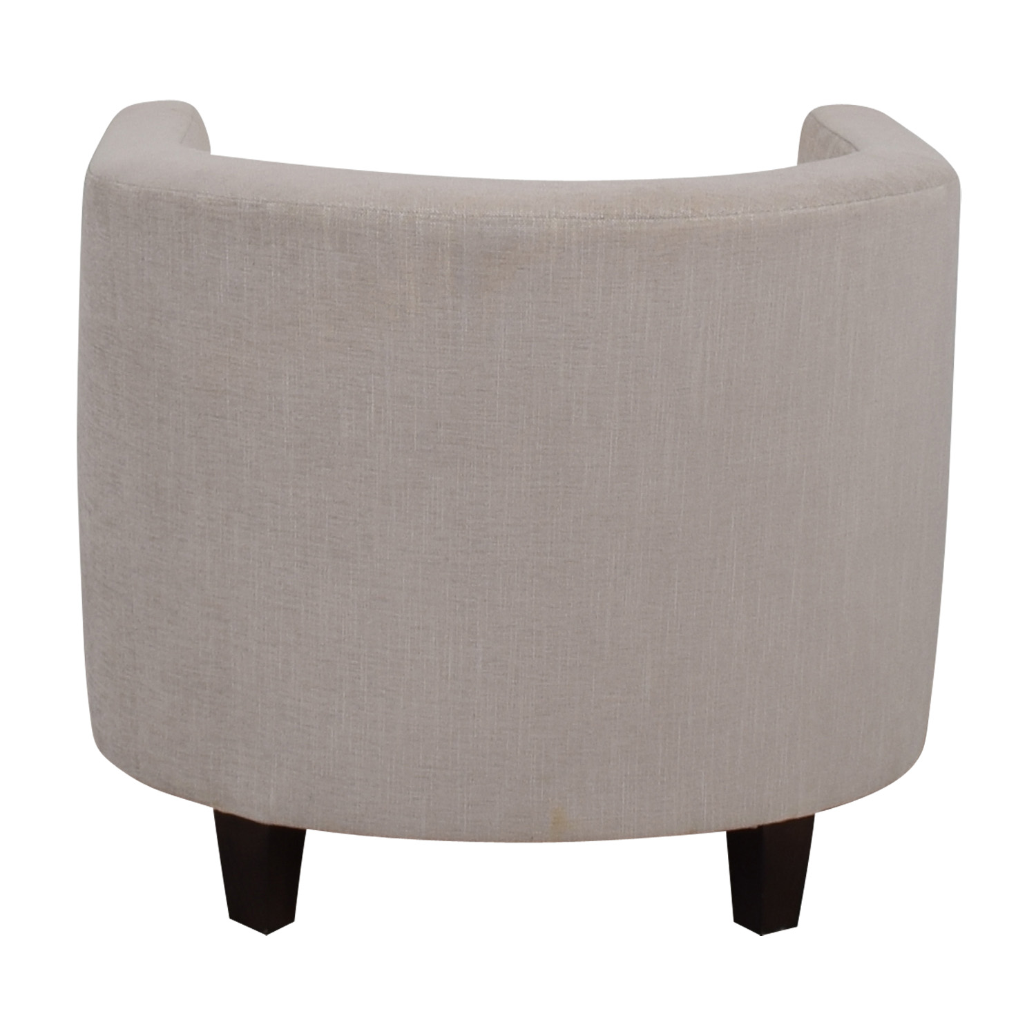 Furniture Masters Furniture Masters Beige Upholstered Barrel Chair dimensions