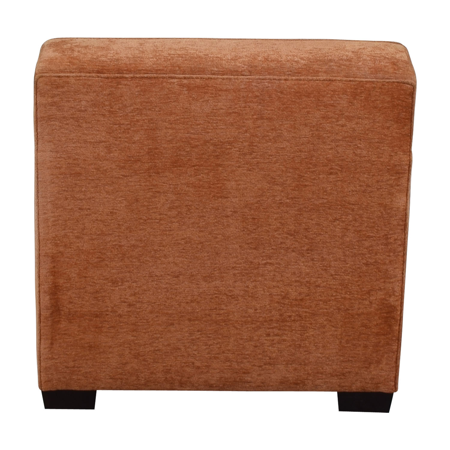 shop Furniture Masters Brown Orange Upholstered Club Chair Furniture Masters Chairs