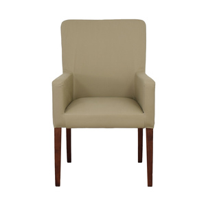 Pottery Barn Pottery Barn Megan Beige Accent Chair discount