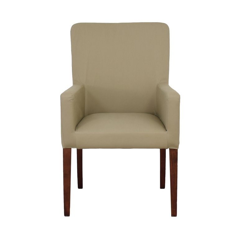 shop Pottery Barn Pottery Barn Megan Beige Accent Chair online