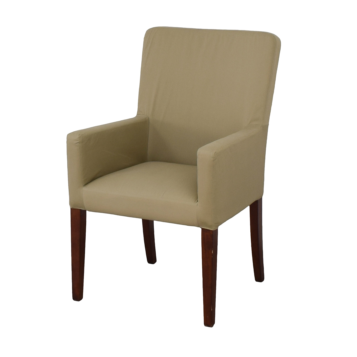 Potters Barn Chair: Pottery Barn Pottery Barn Megan Beige Accent