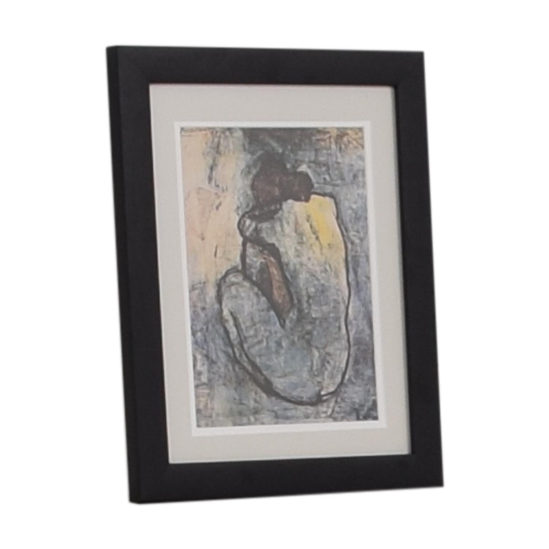 shop  Frame Print Pablo Picasso Blue Nude Framed Print online