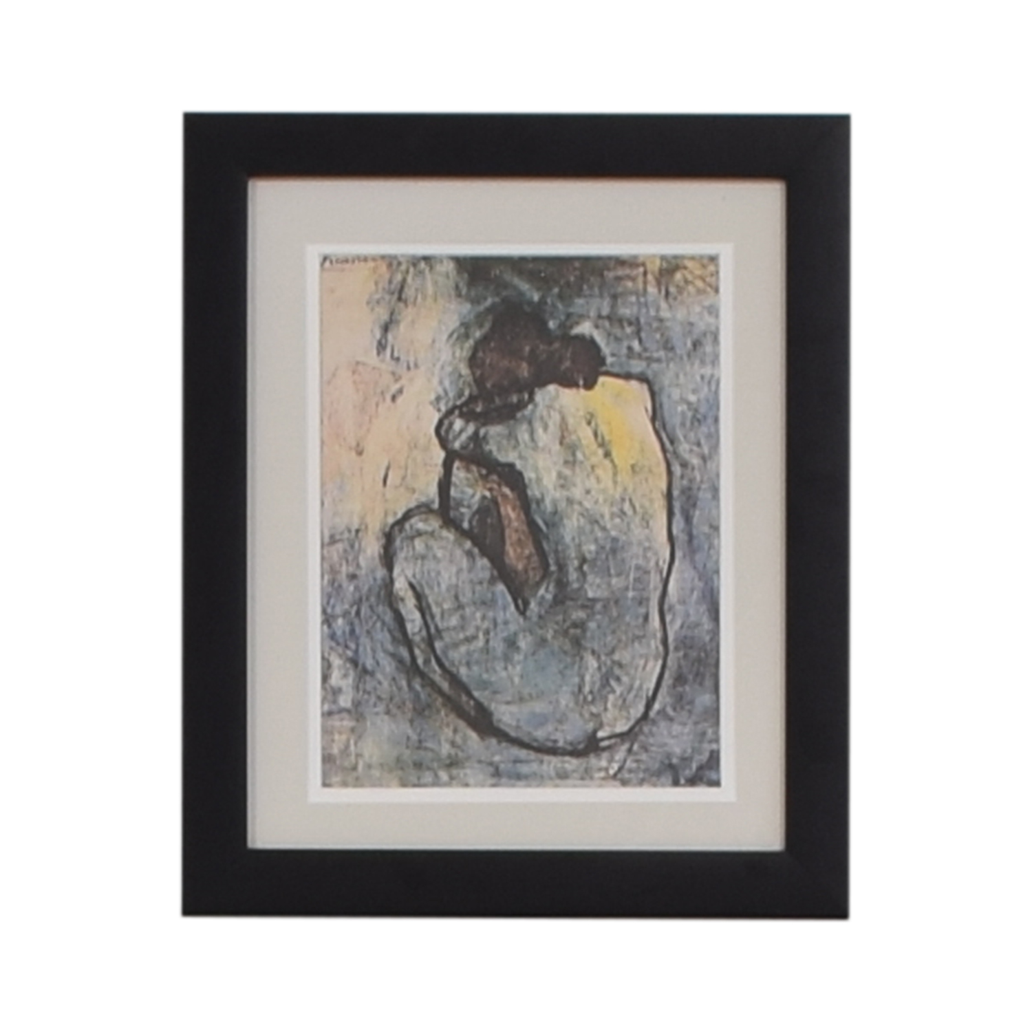 Frame Print Pablo Picasso Blue Nude Framed Print coupon