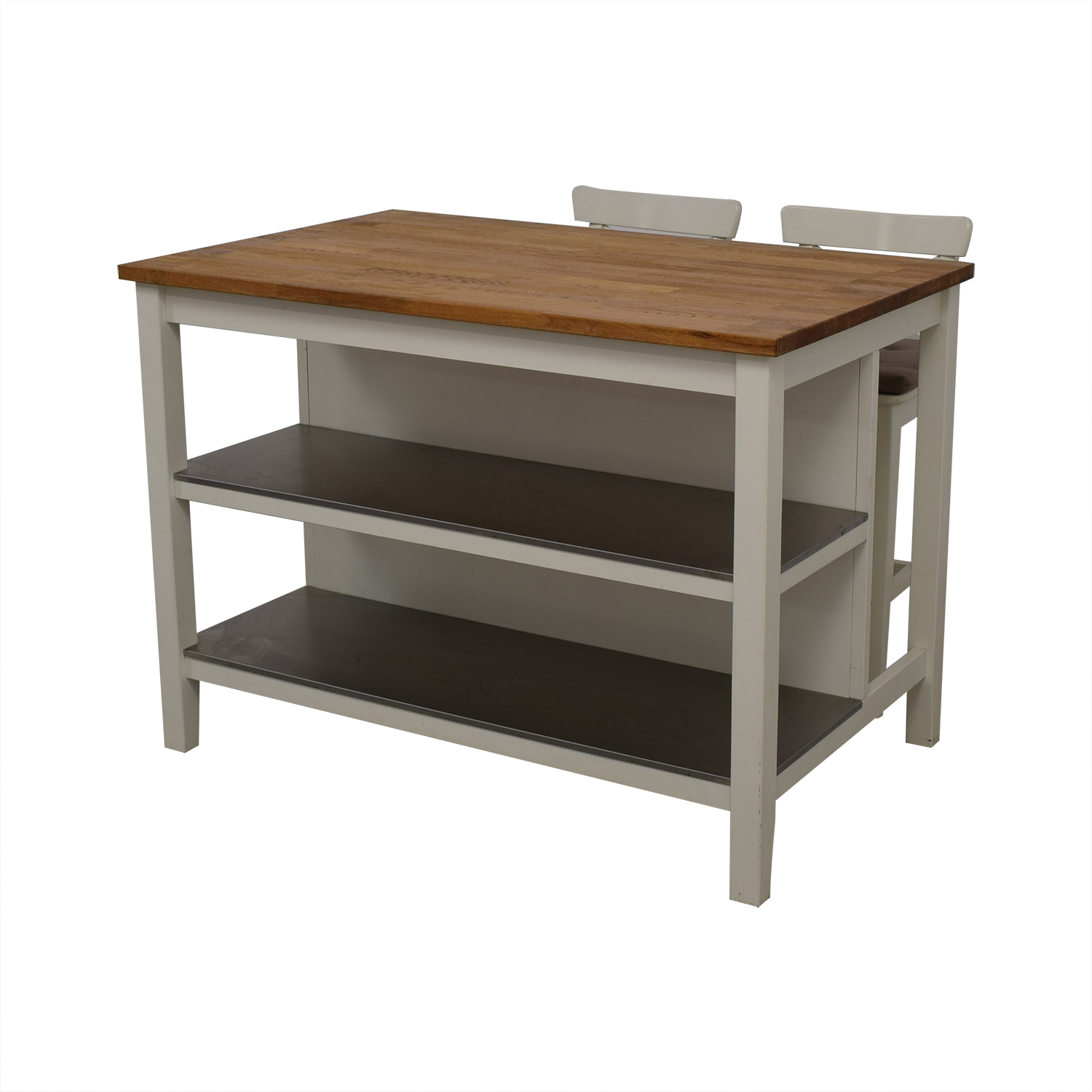 50 Off Ikea Ikea Stenstorp Kitchen Island With Ingolf Chairs Tables