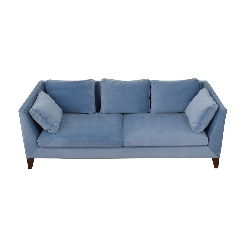IKEA IKEA Sky Blue Two-Cushion Couch sky blue