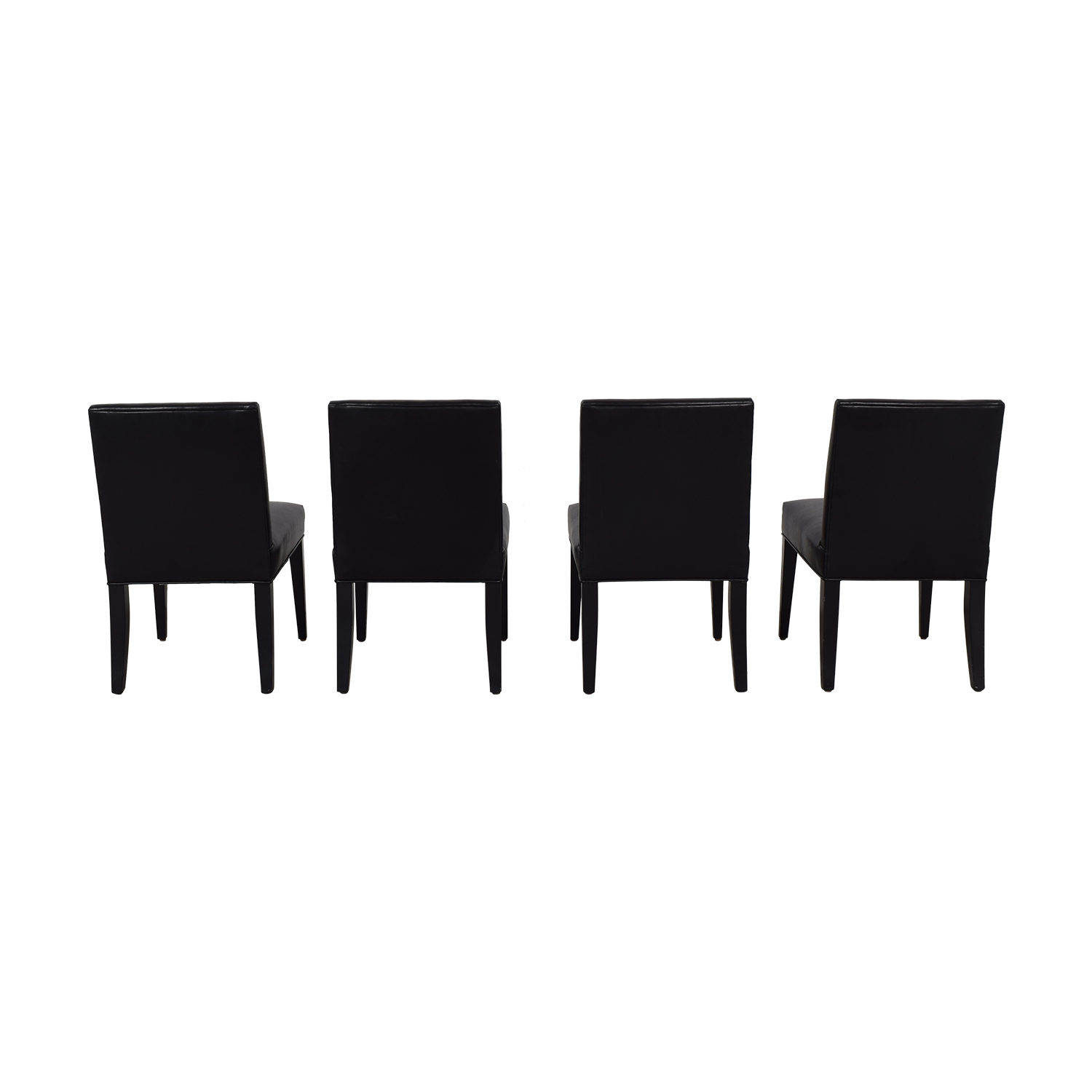 Lazar Lazar Brown Leather Dining Chairs Chairs