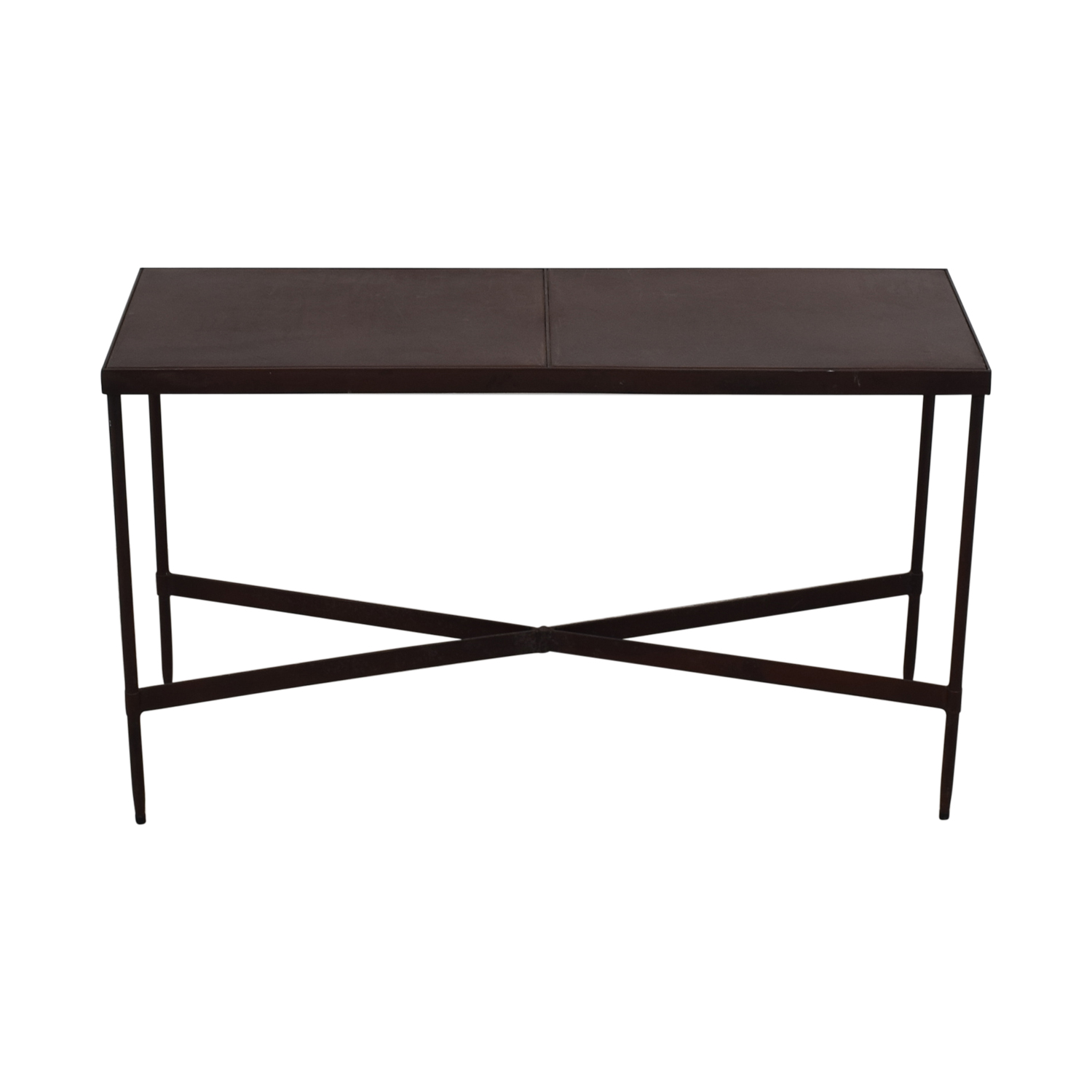 ABC Carpet & Home ABC Carpet & Home Wrought Iron Side Table Accent Tables