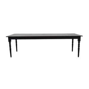 Moooi Moooi Black Wood Extendable Table dimensions