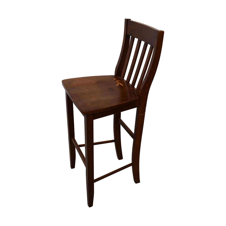 shop Crate & Barrel Wood Bar Stools Crate & Barrel Chairs