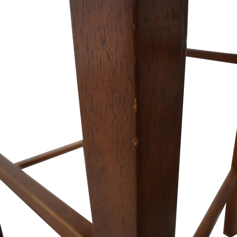 Crate & Barrel Crate & Barrel Wood Bar Stools second hand