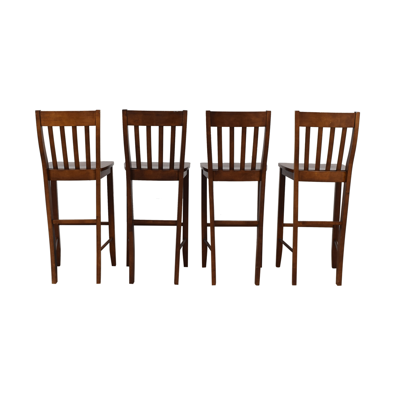 buy Crate & Barrel Crate & Barrel Wood Bar Stools online