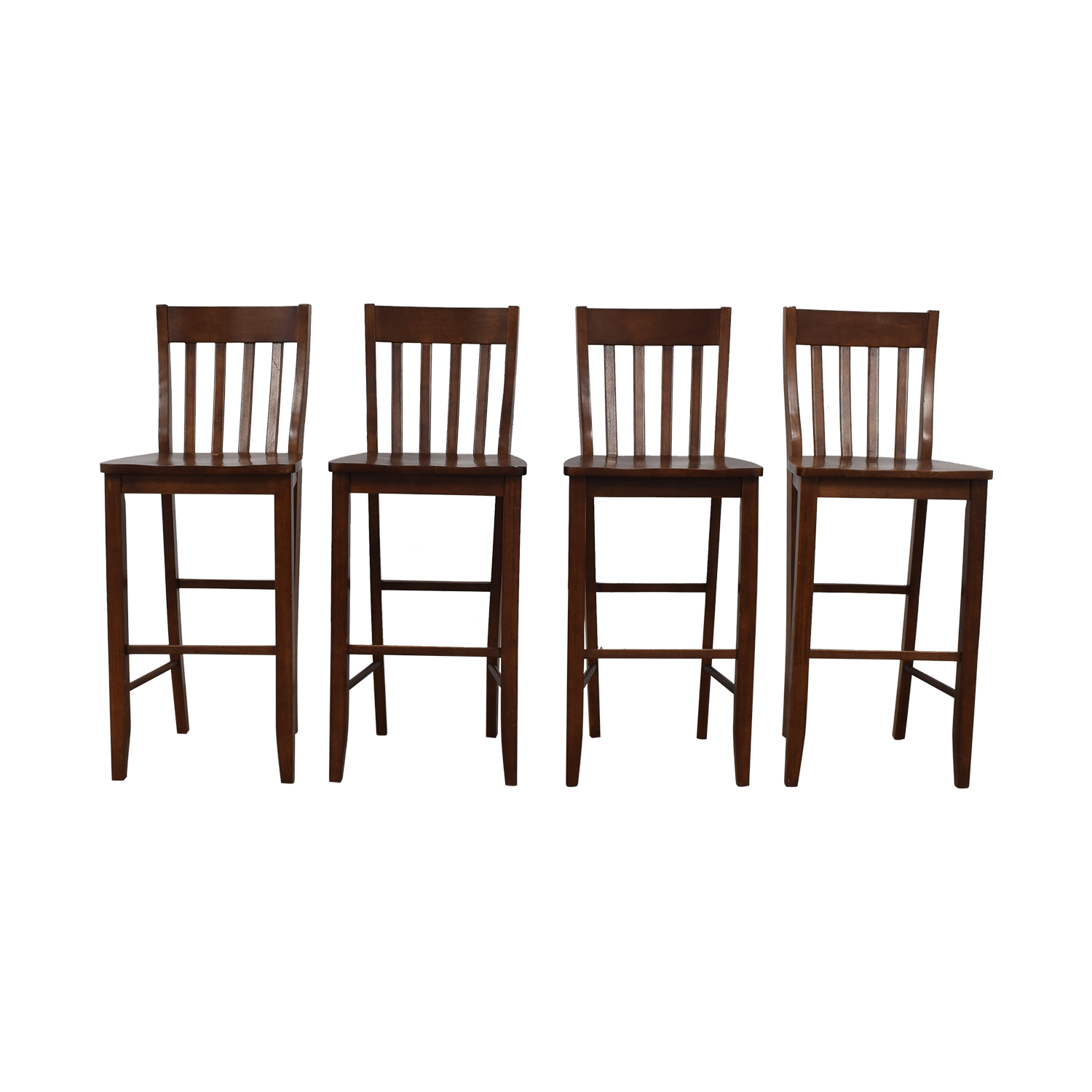 buy Crate & Barrel Wood Bar Stools Crate & Barrel