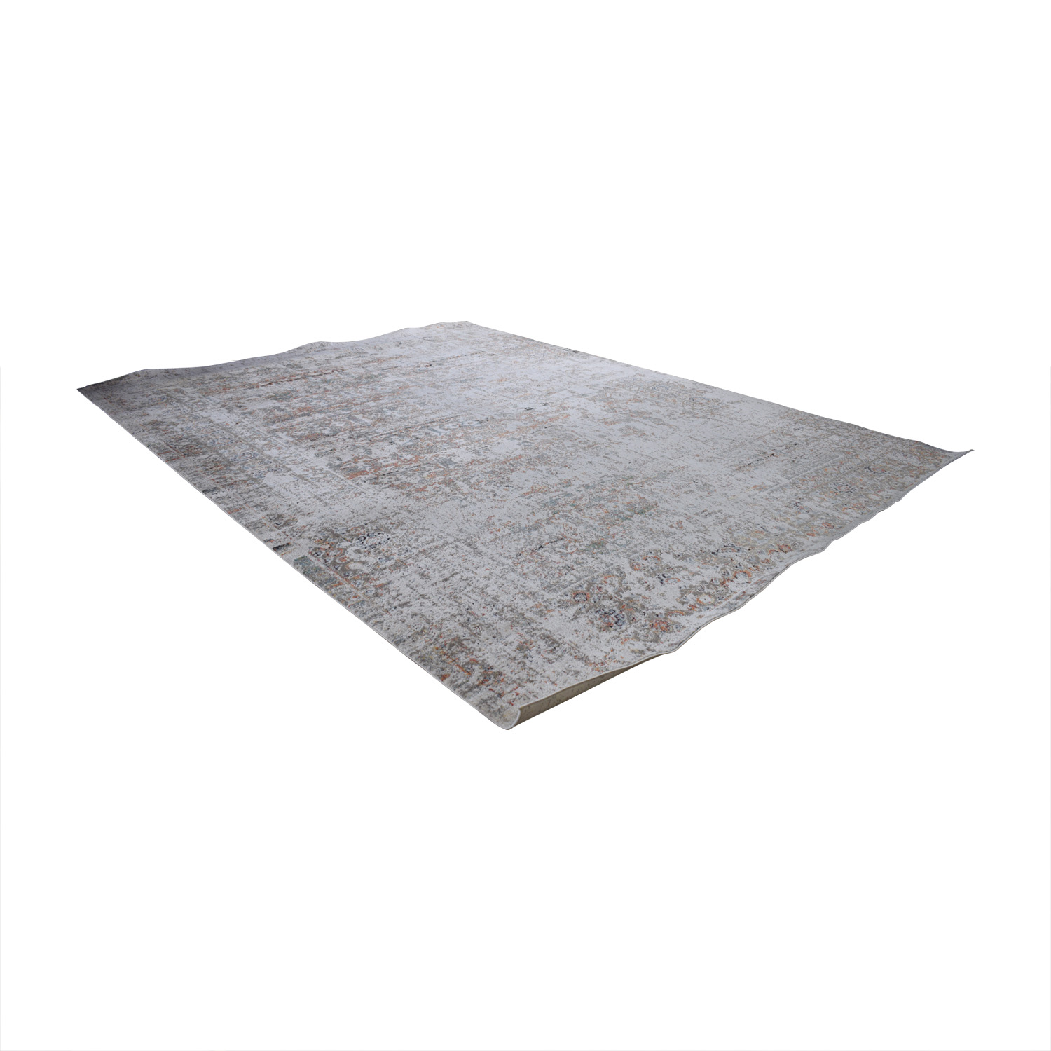 Loloi Rugs Loloi Javari Ivory and Granite Rug Rugs