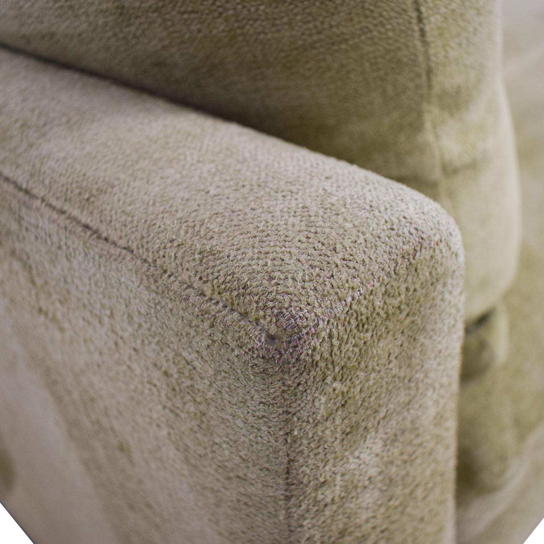 Swaim Swaim Furniture Kaleidoscope Green Chaise Lounge nj