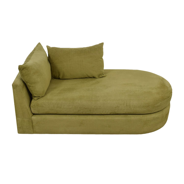 Swaim Swaim Furniture Kaleidoscope Green Chaise Lounge price