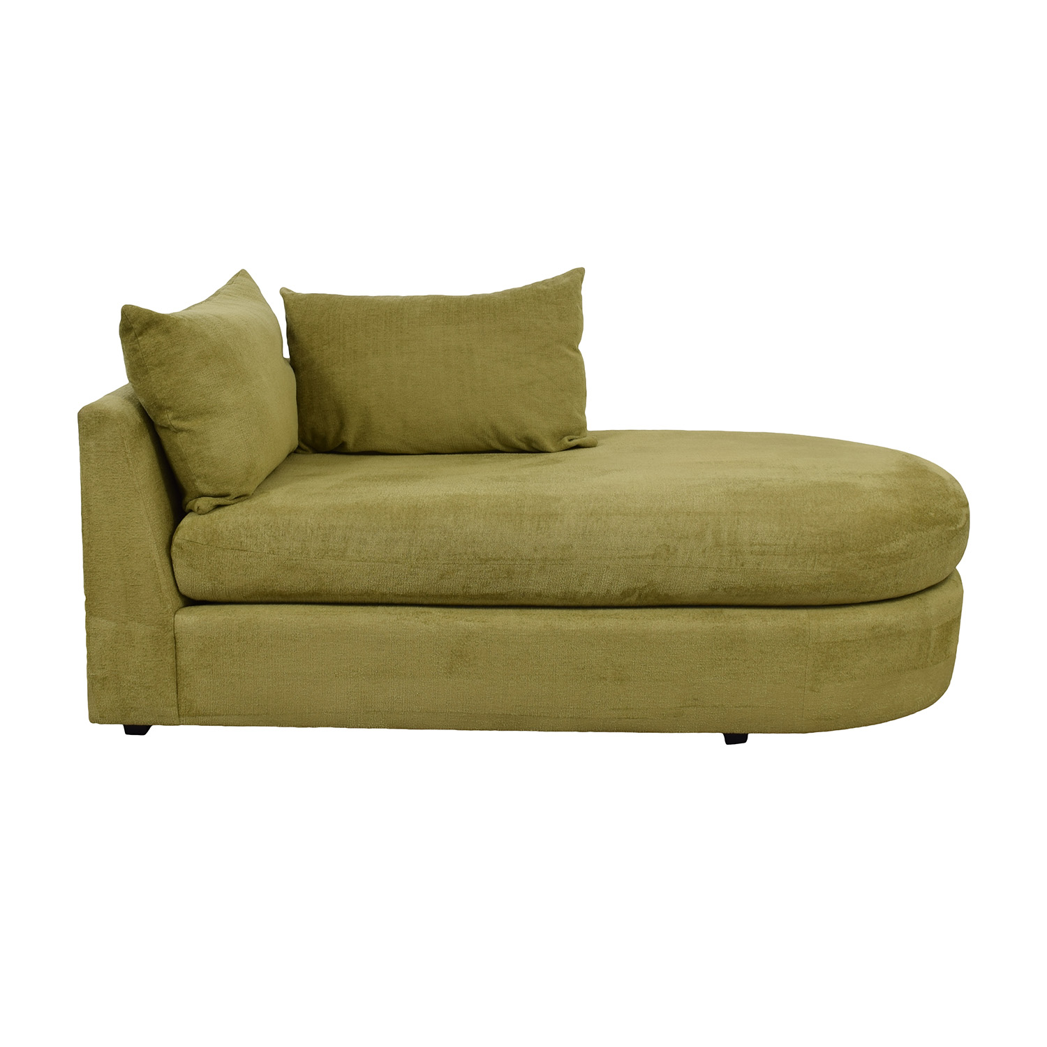Swaim Swaim Furniture Kaleidoscope Green Chaise Lounge on sale
