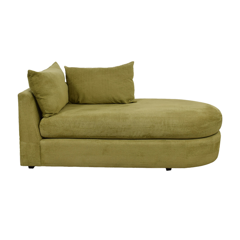 Swaim Furniture Swaim Furniture Kaleidoscope Green Chaise Lounge used
