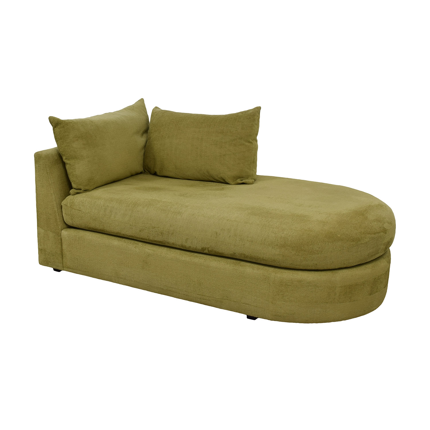 shop Swaim Furniture Kaleidoscope Green Chaise Lounge Swaim Furniture