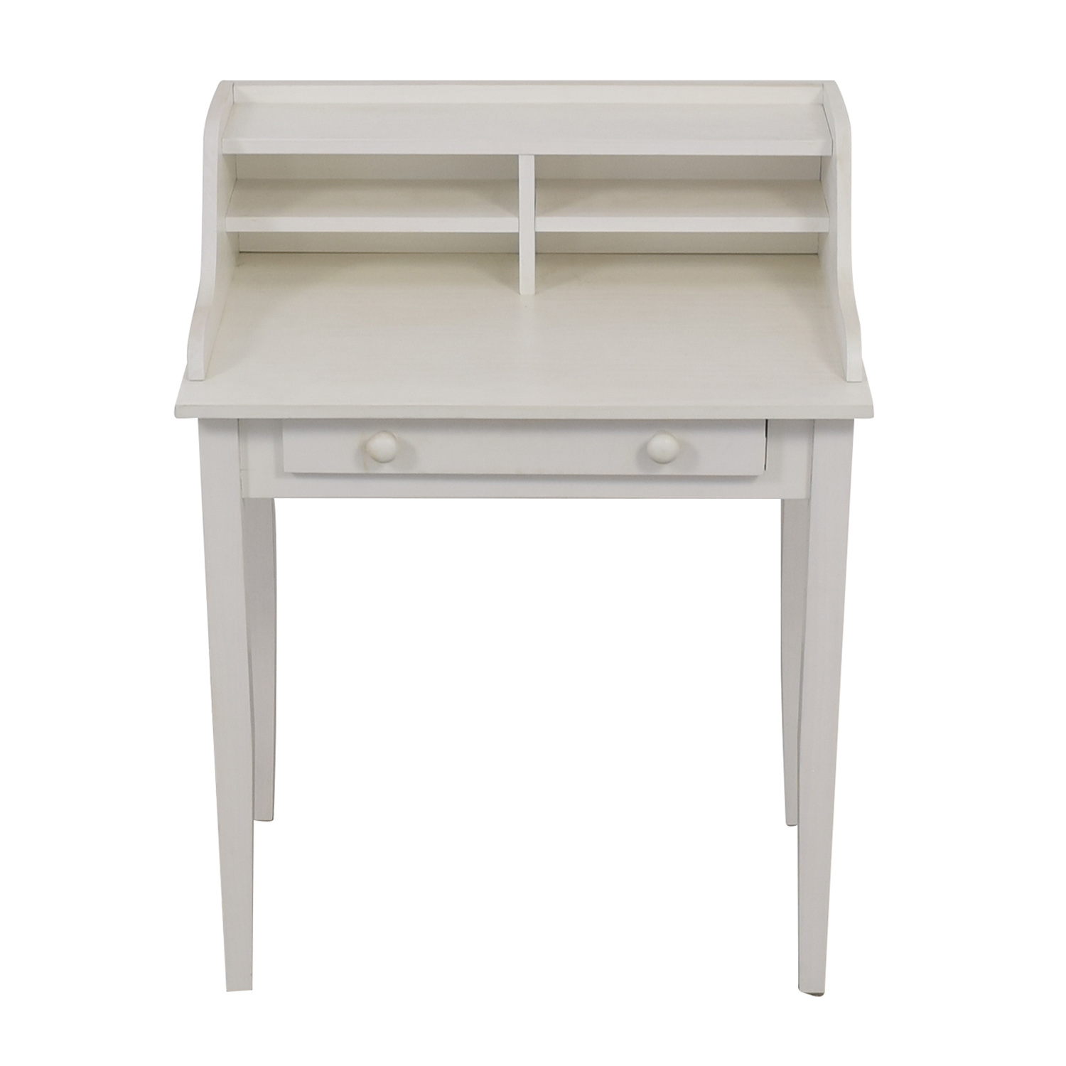 shop White Single Drawer Writing Desk  Tables