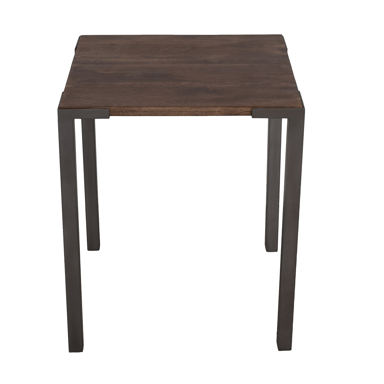 buy CB2 Stilt 2 Rustic Top Counter Table CB2