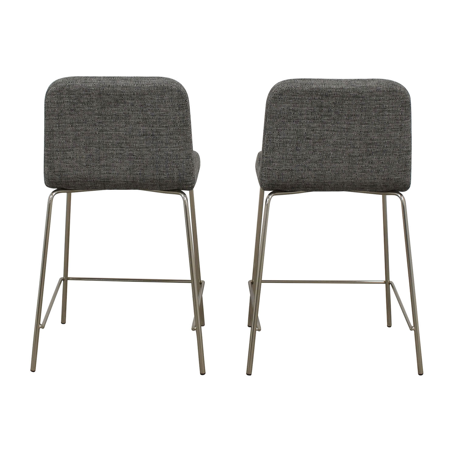 CB2 CB2 Charlie Counter Gray Stools nj