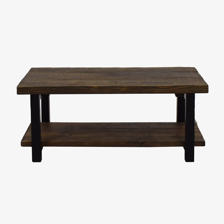 shop Loon Peak Loon Peak Somers Reclaimed Wood Coffee Table online
