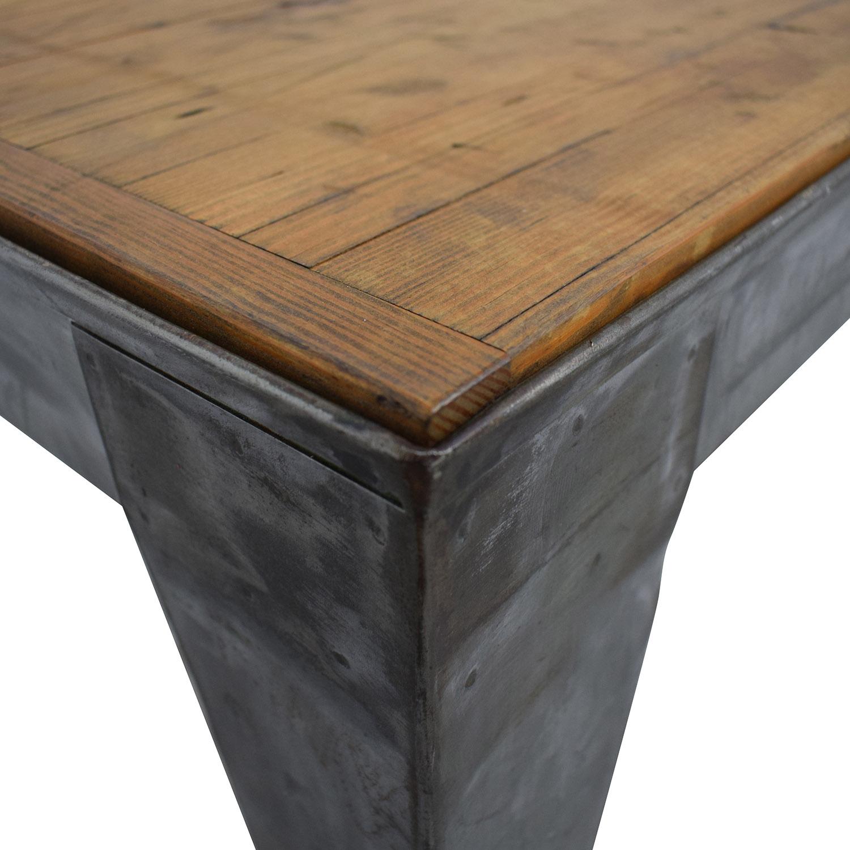 buy Brooklyn Reclamation Bowling Lane Wood Coffee Table Brooklyn Reclamation