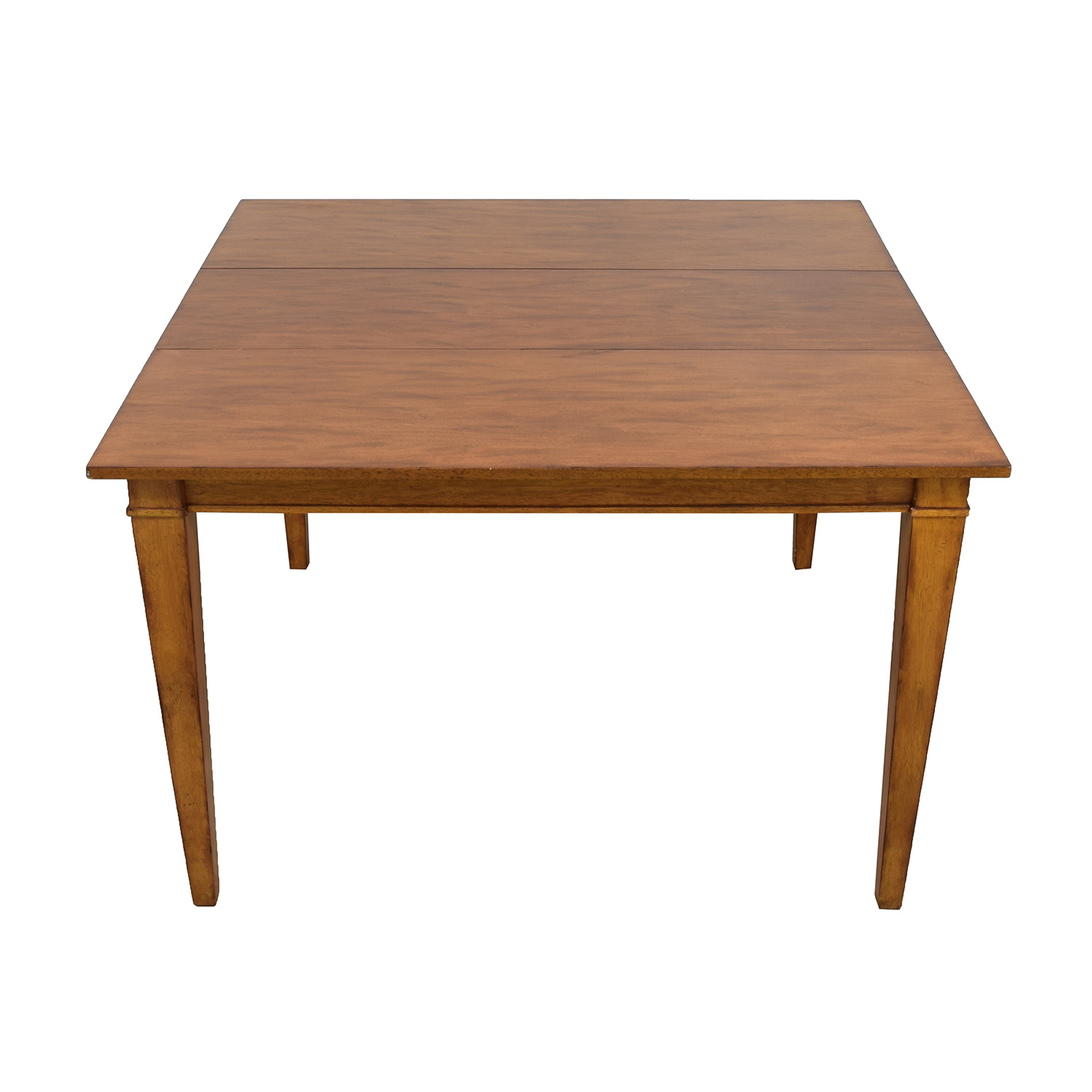 Ethan Allen Ethan Allen Wood Extendable Dining Table for sale