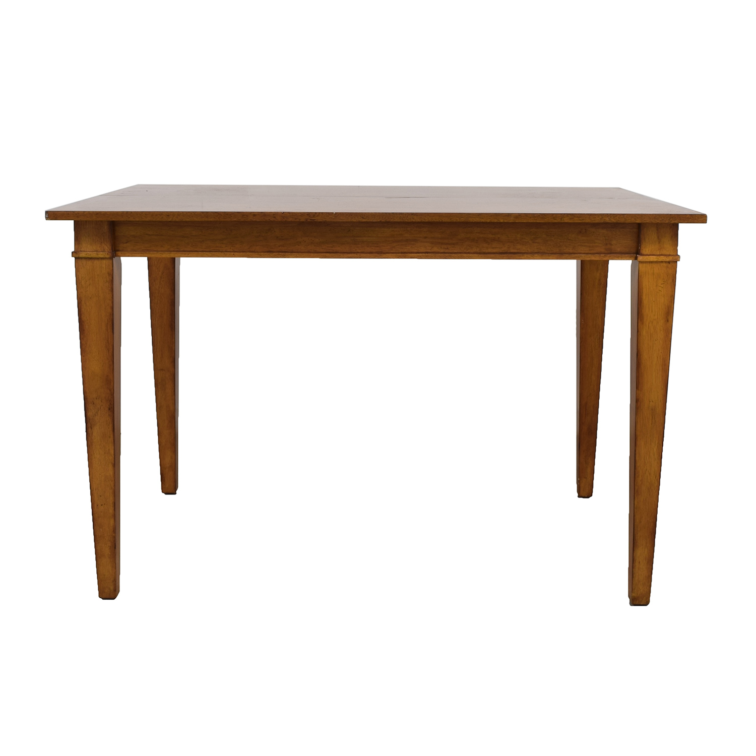 Ethan Allen Wood Extendable Dining Table Ethan Allen