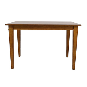 Ethan Allen Wood Extendable Dining Table / Tables