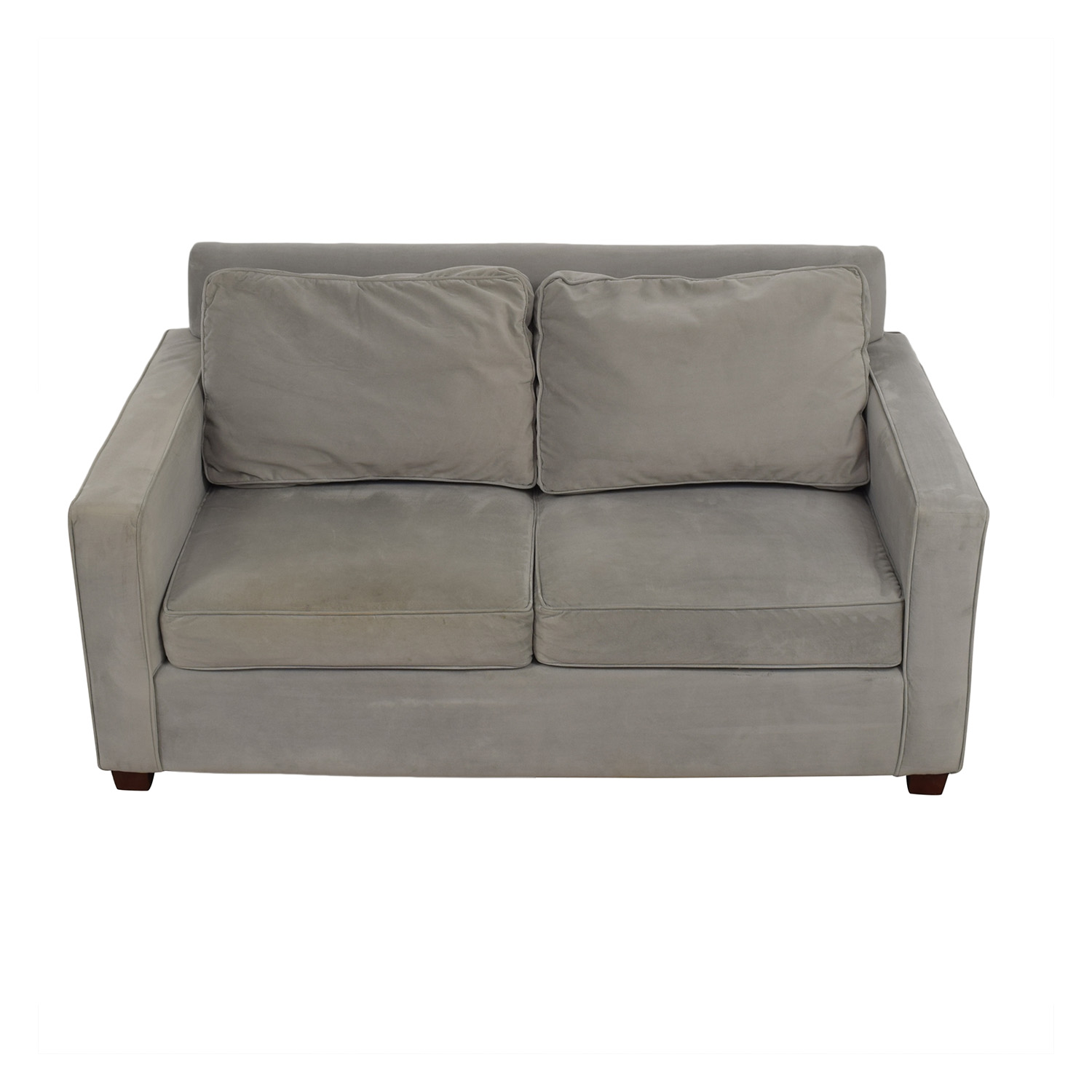buy West Elm West Elm Henry Gray Loveseat online