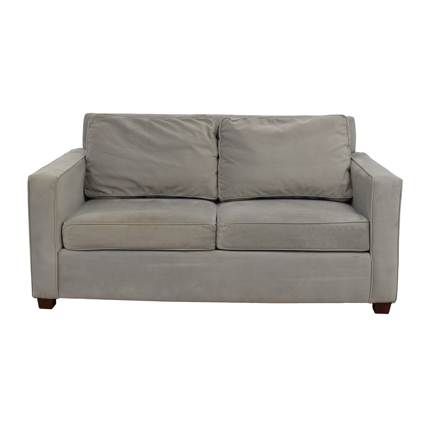 West Elm West Elm Henry Gray Loveseat for sale