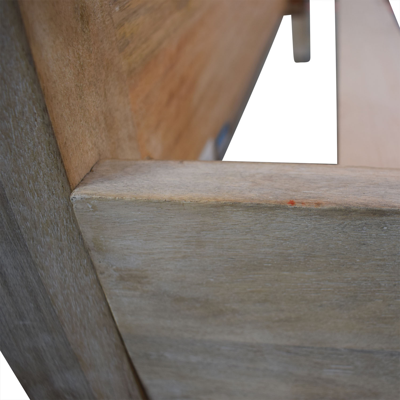 West Elm West Elm Stria Platform Queen Bed Frame coupon