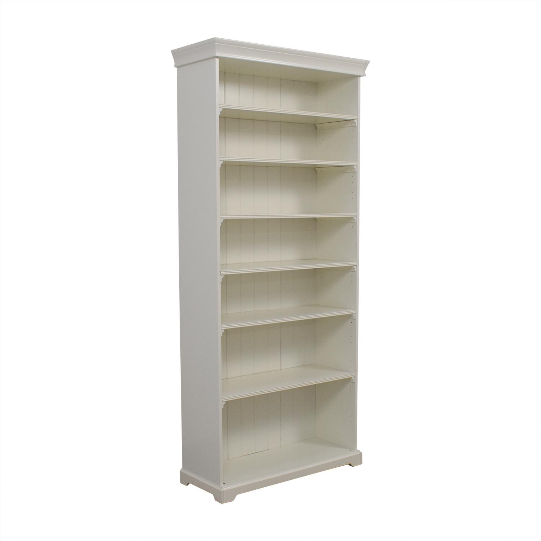 66 Off Ikea Ikea White Liatorp Tall Bookshelf Storage