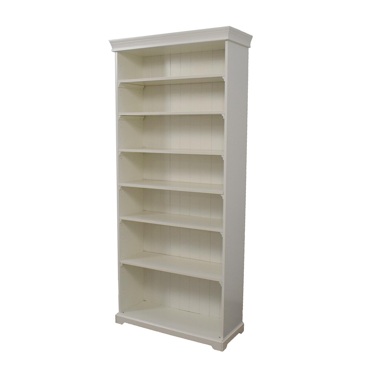 IKEA White Liatorp Tall Bookshelf / Bookcases & Shelving
