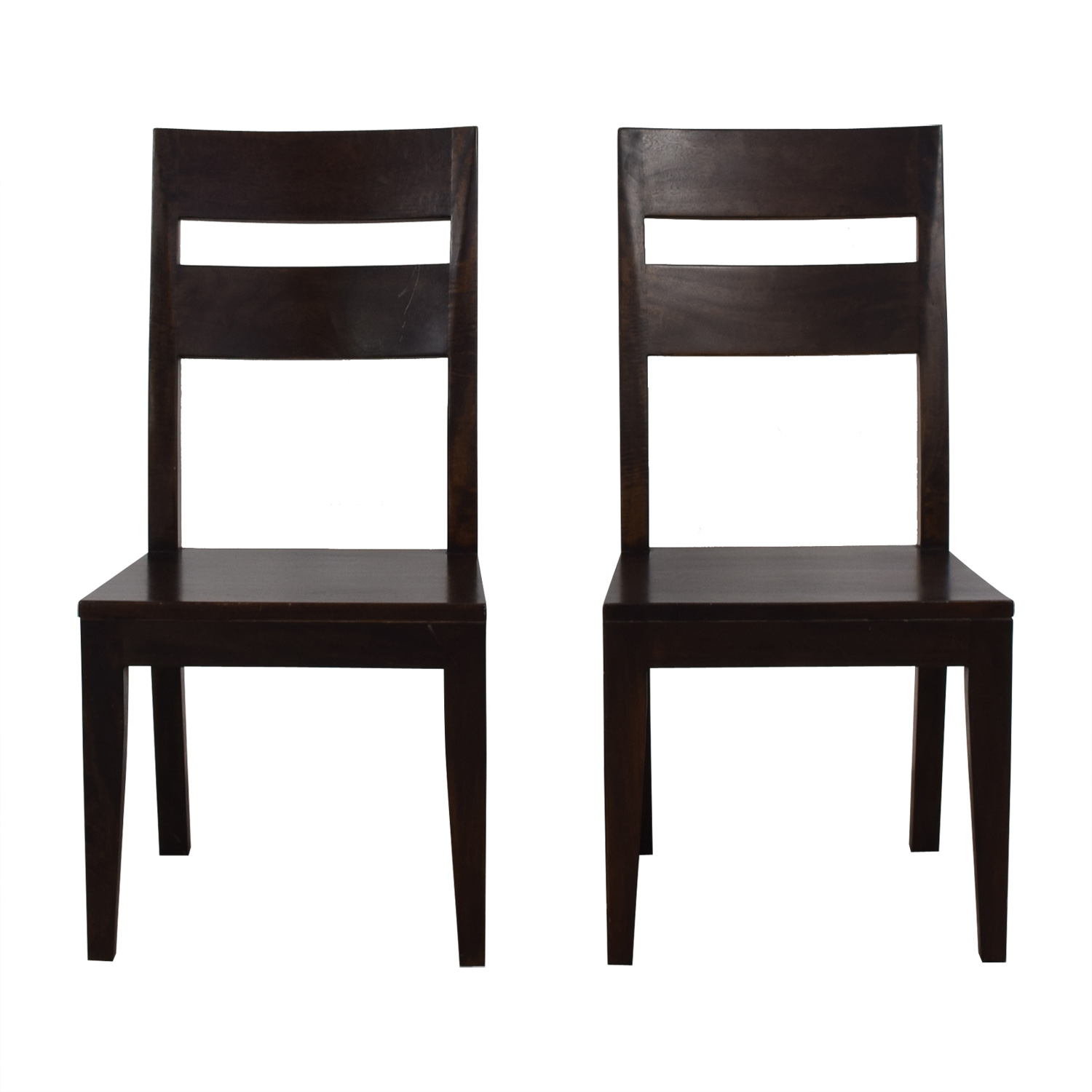 Crate & Barrel Crate & Barrel Wood Dining Chairs coupon