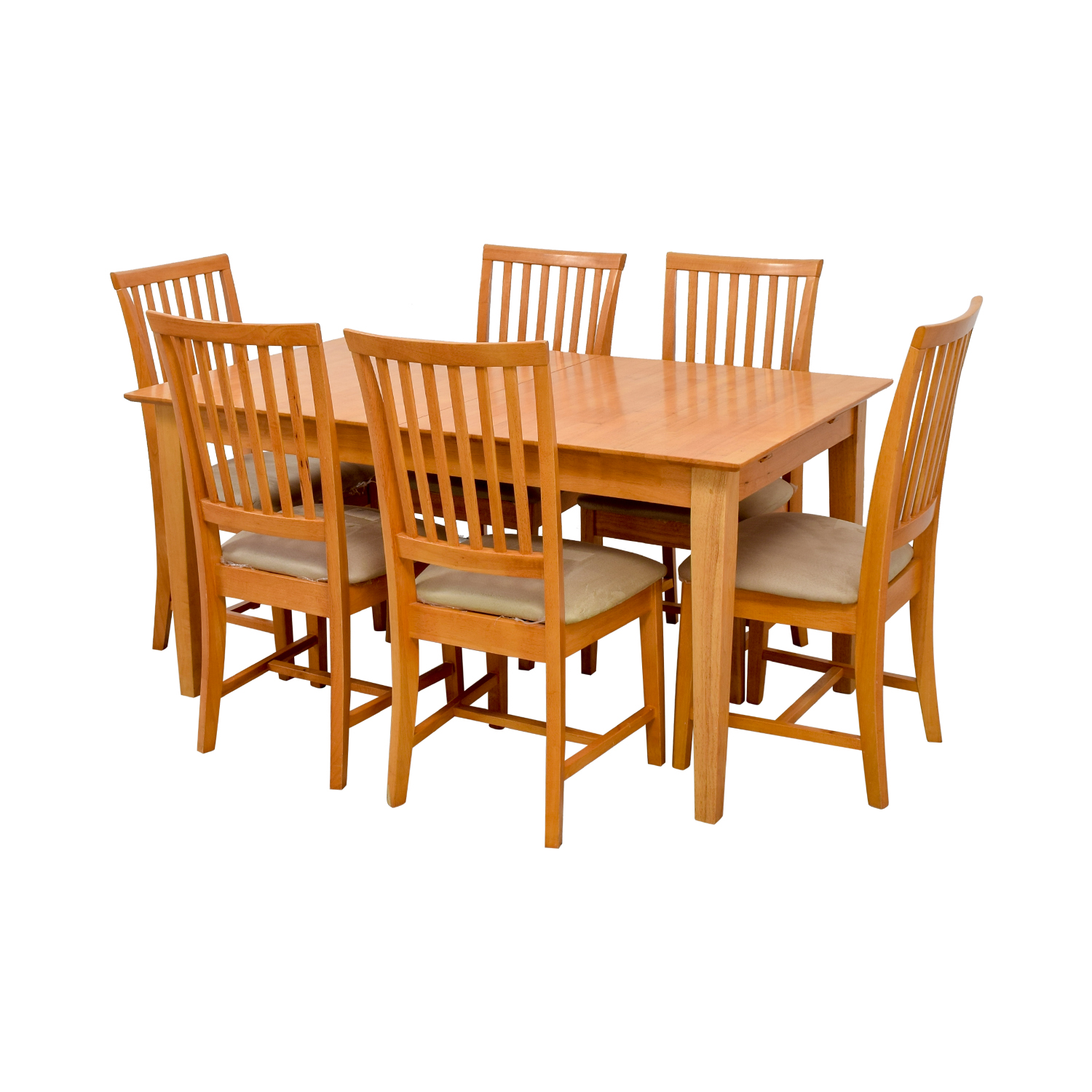 Maple Wood Extendable Dining Set / Tables
