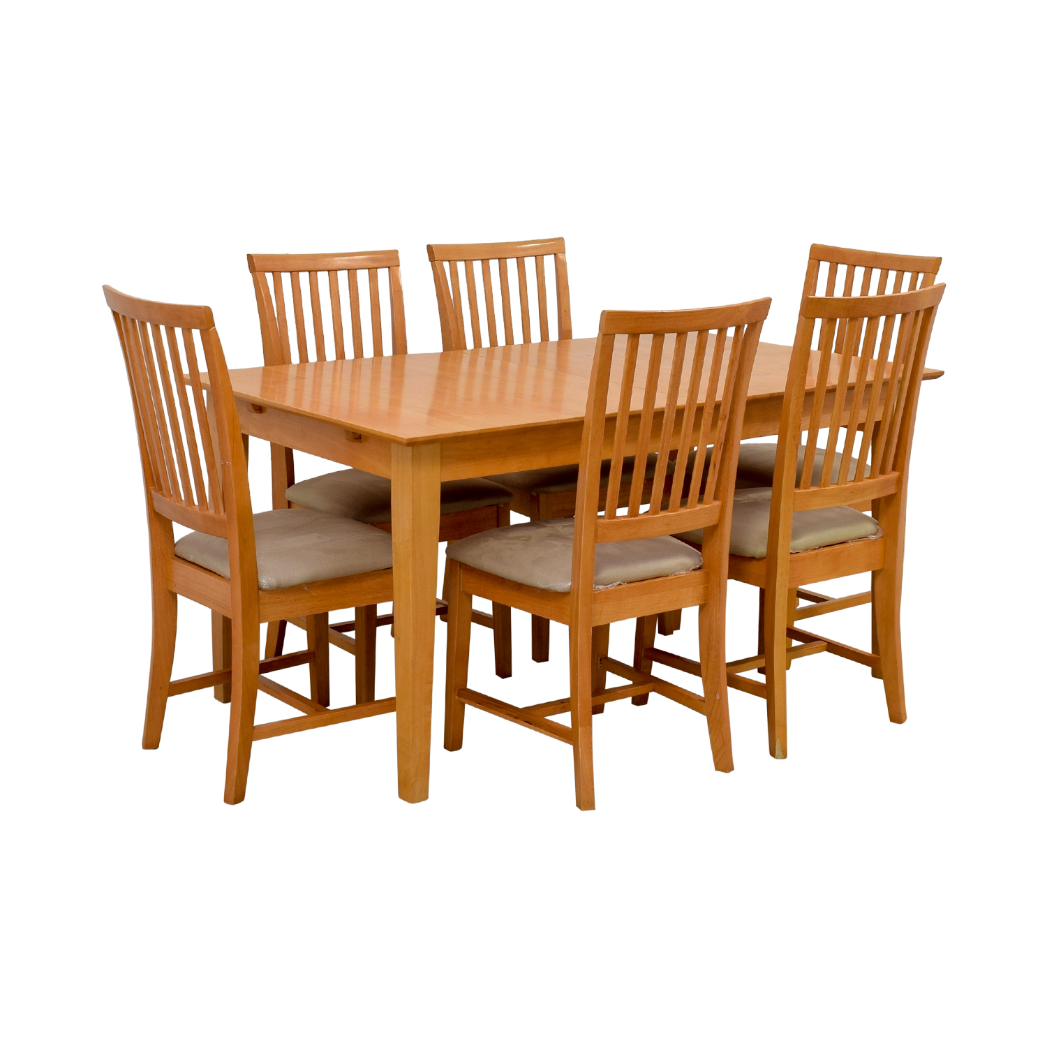 Maple Wood Extendable Dining Set coupon