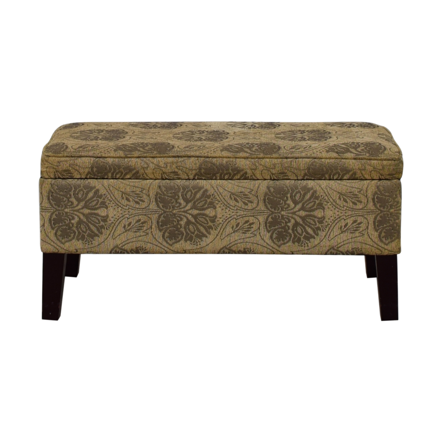 T J Max T J Max Beige and Grey Fabric Ottoman for sale