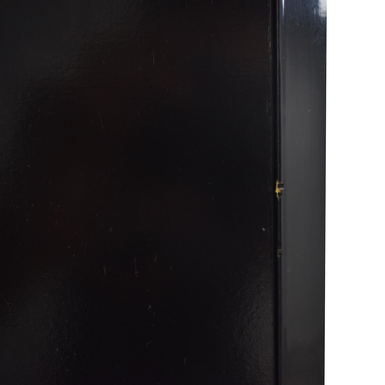 Millennium Millennium Black Two-Drawer Clothing Armoire or Tall Dresser discount