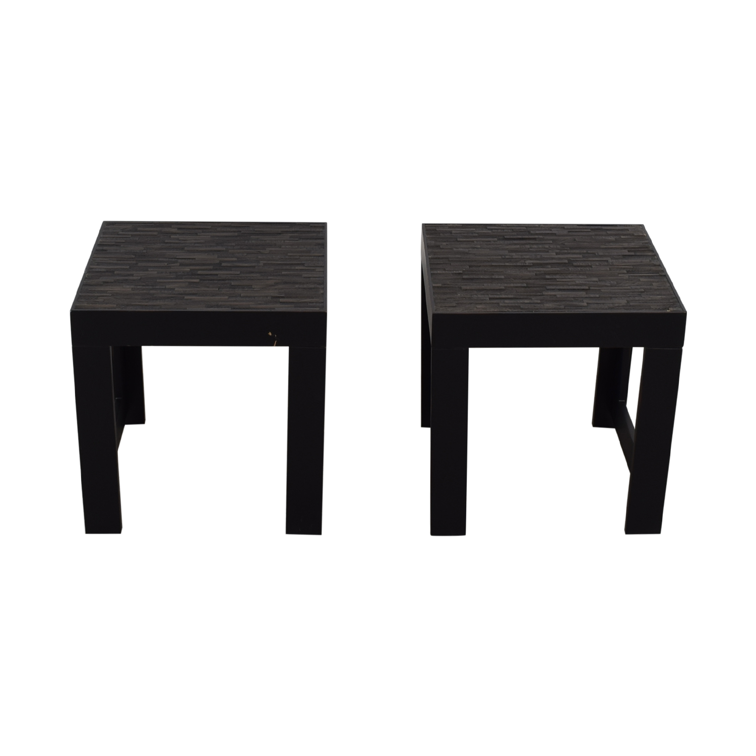 Black Wood Side Tables coupon