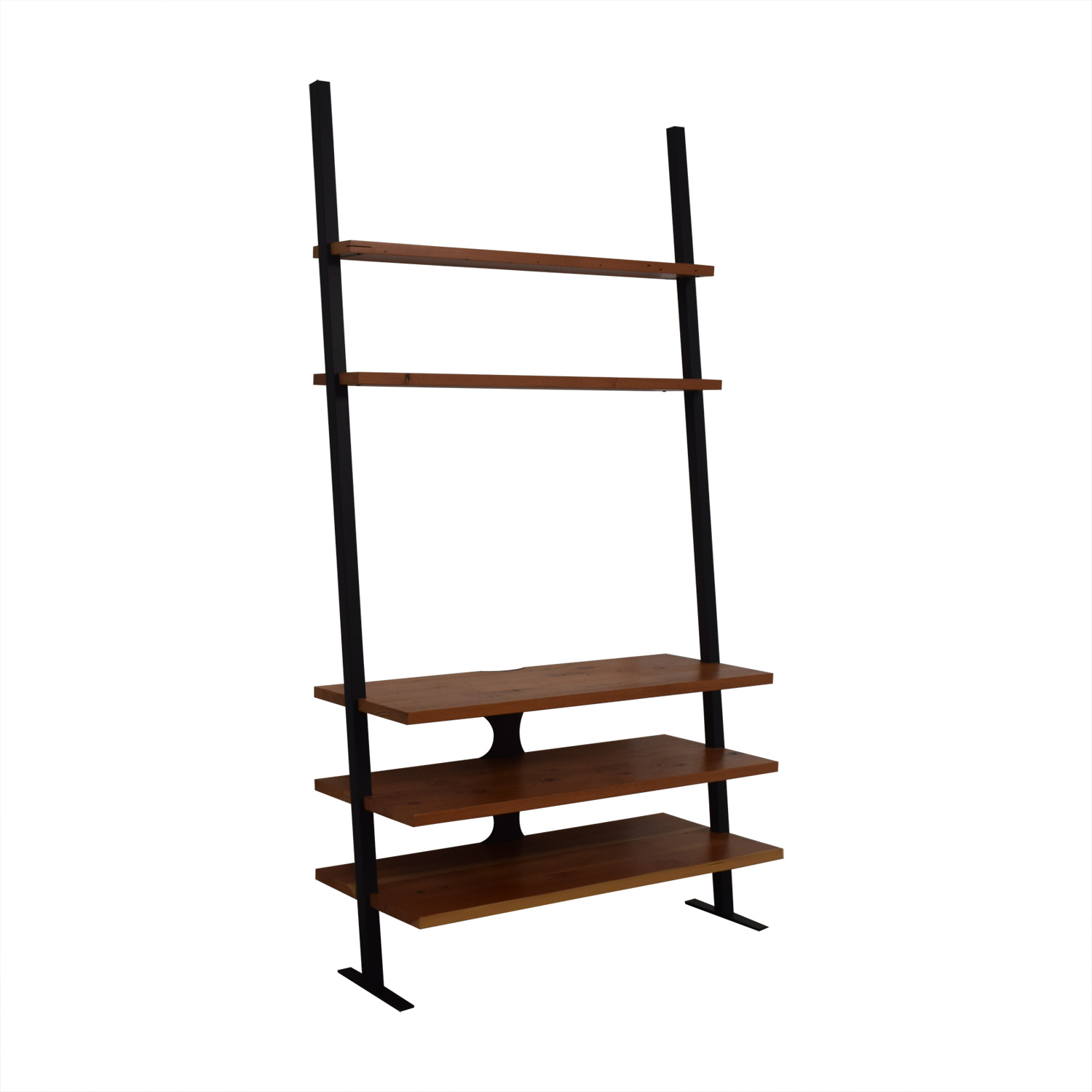 shop Room & Board Reclaimed Wood Leaning Media Shelf Room & Board Storage