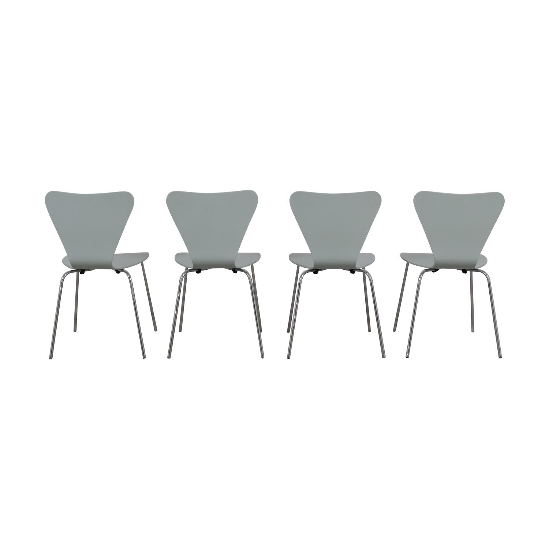 buy Room & Board Jake Light Blue Chairs Room & Board Sofas