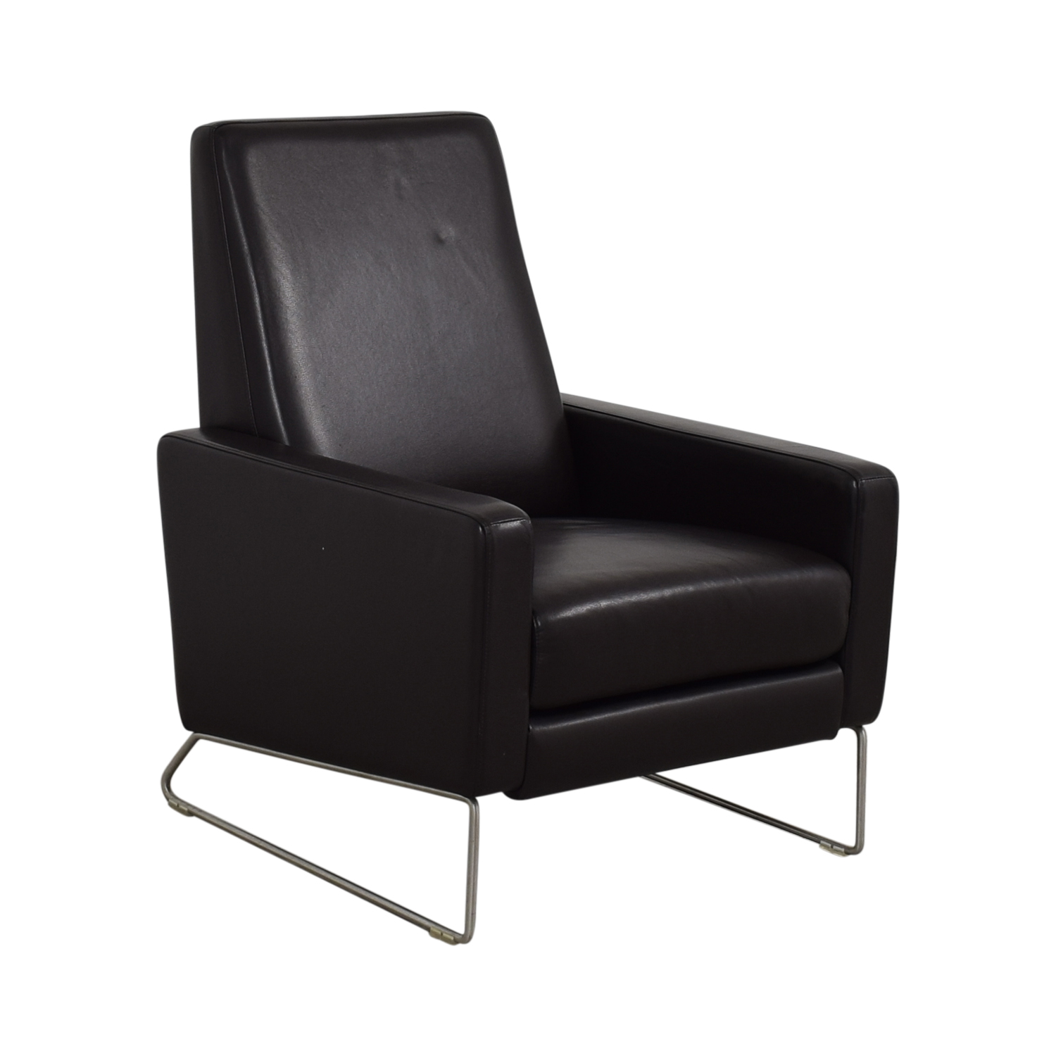 Delicieux 65% OFF   Design Within Reach Design Within Reach Flight Brown Leather  Recliner Chair / Chairs