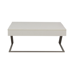 BoConcept BoConcept Granville White Coffee Table with Storage used