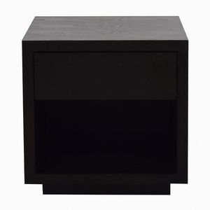 Room & Board Room & Board Black Nightstand with Storage price